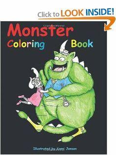 Monster Coloring Book by Konni Jensen. $5.95. Publication: January 22, 2013. Publisher: CreateSpace Independent Publishing Platform (January 22, 2013)