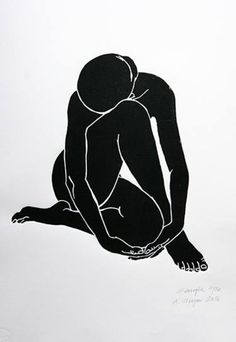 "Saatchi Art Artist A Weyer; Printmaking, ""Georgia - Limited Edition 17 of 20"" #art"