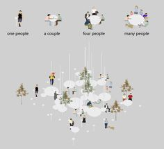 Image 28 of 28 from gallery of Heytea Daydreamer / A.N ARCHITECTS. Landscape Diagram, Landscape Plans, Landscape Architecture, Landscape Design, Landscape Bricks, Calvin Und Hobbes, Urbane Analyse, Architecture Concept Diagram, Public Space Design