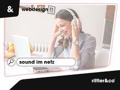 So verwendest du Sound in modernem Webdesign Design Web, Marketing, Ecommerce, Creative, Blog, Advertising Strategies, Musik, Web Design, Blogging