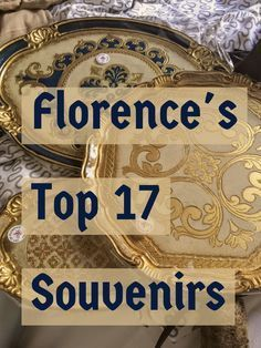 Best 17 travel souvenirs from Florence Italy. My ultimate shopping guide for top things to buy.