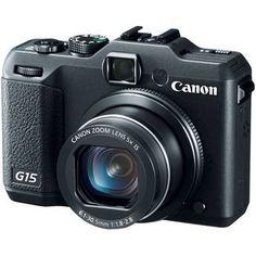 Canon PowerShot G15 Digital Camera  $299.00
