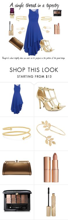 """""""Through Heaven's Eyes"""" by clairemjc ❤ liked on Polyvore featuring Halston Heritage, Dee Keller, Arme De L'Amour, Miss Selfridge, Charlotte Tilbury, Guerlain, Stila, Christian Louboutin, musicals and princeofegypt"""