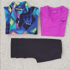 Fila sports jacket Half zipper very comfortable great condition Fila Tops