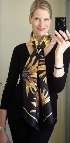Hermes Maxi Twilly with an Anneau Infinity scarf ring
