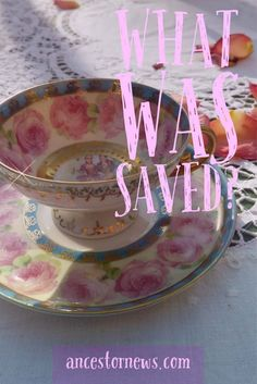 What Family Treasure Have You Saved? Save-a-Story Saturday http://ancestornews.com/family-treasure-saved-save-story-saturday/?utm_campaign=coschedule&utm_source=pinterest&utm_medium=Nancy%20Hendrickson&utm_content=What%20Family%20Treasure%20Have%20You%20Saved%3F%20Save-a-Story%20Saturday