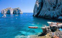 Capri - Private beach club sounds awesome.