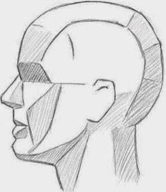 Drawings: LEARNING THE PLANES OF THE FACE