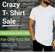 Great Deals, Screen Printing, 50th, Unisex, Cotton, Mens Tops, T Shirt, Fashion, Tee