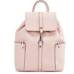 ShoeDazzle Bags Nicolae Backpack Womens Pink ❤ liked on Polyvore featuring bags, backpacks, pink, handbags, wallets & cases, rucksack bags, pink rucksack, knapsack bag, pink bag and day pack rucksack
