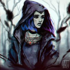 I've watched today and you know it was much better than I've expected! I will definitely give this series a chance and watch it. The visual part, colours and the atmosphere is very good. Raven is my favourite character for many years and I could no Teen Titans Raven, Teen Titans Fanart, Raven Teen Titans Cosplay, Drawing Cartoon Characters, Character Drawing, Comic Character, Cartoon Drawings, Dc Comics Characters, Raven Anime