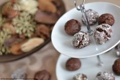 Perníkové crinkles s čokoládou | Recepty mojej zdravej kuchyne Crinkles, Cereal, December, Pudding, Cookies, Ale, Breakfast, Desserts, Food