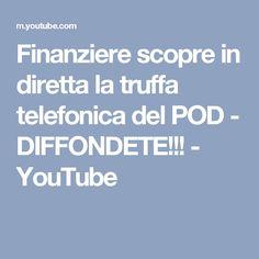 Finanziere scopre in diretta la truffa telefonica del POD - DIFFONDETE!!! - YouTube