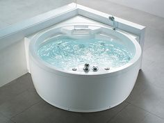 Whirlpool - Bad rond - Spa - Indoor Jacuzzi - Bubbelbad - MILANO