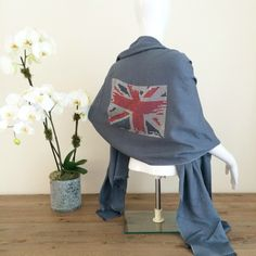 Cashmere pashmina featuring sparkling crystal design by cashmere rebel london