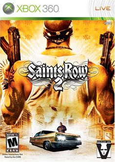 Saints Row 2--Probably the wackiest, most wonderful sandbox game I've played. Eat your heart out GTA