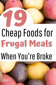Fun budget meal ideas your kids will eat. When money is tight food doesn't have to be boring. Learn where to get free food in the United States of America. Add these dinner ideas to your meal plan. Cheap Meal Plans, Cheap Meals, Frugal Meals, Budget Meals, Frugal Recipes, Freezer Meals, Cooking On A Budget, Cooking Tips, Cheap Grocery List