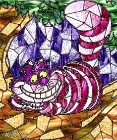 stain glass cat - Google Search