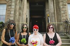 Colour Pop Glaswegian Wedding: Claire & Tom