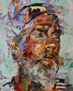 Paul Wright Artist Abstract Portrait, Portrait Art, Portraits, Art And Illustration, Paul Wright, Figurative Kunst, Expressive Art, A Level Art, Life Drawing