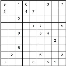 Wicked Sudoku by Live Sudoku. Click to play online.