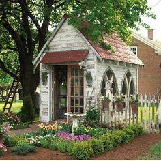 Jardin secret : un cabanon rien que pour vous