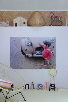 Mooie kinderfoto in de kinderkamer | mymobilhome