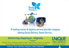 Unique Air Express, A Leading Courier, Cargo & Logistics service Provider offering Quick Delivery and Smart Service.