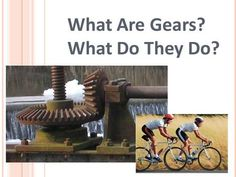 What Are Gears? What Do They Do?. 1. What is a gear? A gear is a wheel with teeth that meshes together with other gears and is usually made of metal or.