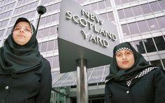 Scotland Yard Police Hijab Uniform