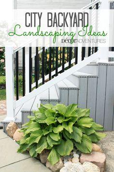 City Backyard Landscaping Ideas + Our Backyard Makeover