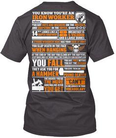 dick on heart iron I t-shirt