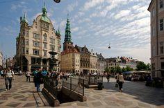 Paseo y Calle Peatonal-Copenague-Dinamarca-Producciones Vicari.(Juan Fra...
