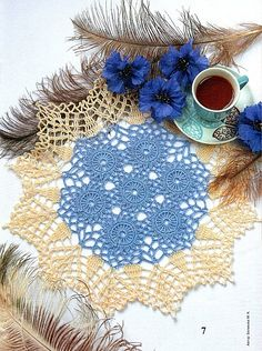 tons of free crochet patterns for round doilies