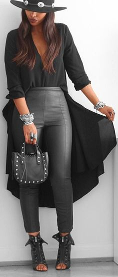 All Black // Fashion Trend by  femmeblk