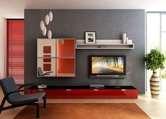 modern küçük oturma odası 2