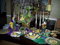 Mardi Gras party 2008 - Dining Room Designs - Decorating Ideas - HGTV Rate My Space