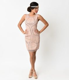 Fabulous fête's and glam gatherings await, dames! A dash of deco meets contemporary class in this fresh flapper take, i...Price - $72.00-svmwNH4s