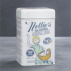 From Crate & Barrel: Nellie's™ All-Natural Laundry Soda