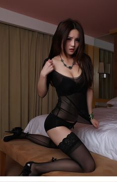 Hot asian stockings