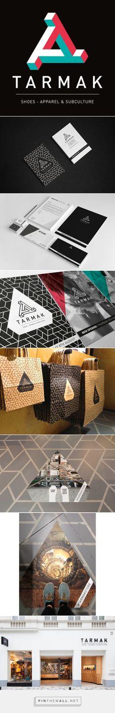 Tarmak Branding on Behance | Fivestar Branding – Design and Branding Agency & Inspiration Gallery