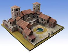 Fantasy City, Fantasy Castle, Fantasy House, Medieval Houses, Medieval Town, Minecraft Architecture, Minecraft Buildings, Conan Exiles, Minecraft Medieval