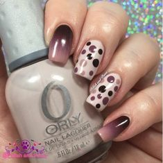 Nail Art Triple Gradient with Dotticure   Polish and Paws