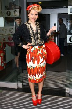 Paloma Faith in Dolce & Gabbana #bestdressed #palomafaith #dolceandgabbana