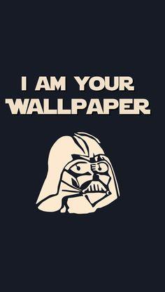 Darth Vader, Stormtrooper, Vader Star Wars, Star Wars Logos, Star Wars Humor, Star Wars Wallpaper Iphone, Funny Phone Wallpaper, Funny Wallpapers, Iphone Wallpapers
