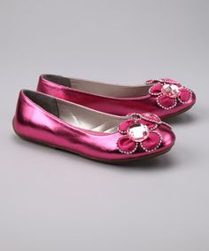 Take a look at this Rose Sakura Flat by Blow-Out on #zulily #fall!