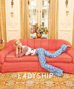 Anastasia Kolganova wears retro inspired fashions for Singles Korea magazine February 2016 editorial