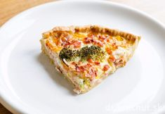 Photo about Pie with ham and broccoli. Image of cooking, stuffed, home - 30926055 Quiche, Ham, Broccoli, Plates, Baking, Breakfast, Food, Licence Plates, Morning Coffee