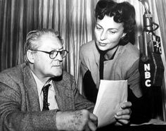Hollywood Legends: Lionel Barrymore and Agnes Moorehead Agnes Moorehead, Hollywood Walk Of Fame, Old Hollywood, Classic Hollywood, Barrymore Family, Drew Barrymore, Jane Eyre Movie, 1940s, Bewitched Elizabeth Montgomery