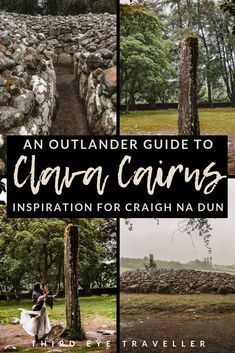 Did you know that Clava Cairns was the inspiration for Craigh Na Dun in Outlander? Here's your Clava Cairns Outlander guide on how to visit in Inverness! Scotland Vacation, Scotland Travel, Diana Gabaldon, Outlander Locations, Inverness Scotland, Outlander Novel, Travel Inspiration, Travel Ideas, Travel Tips